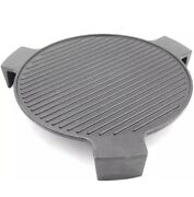 Cast Iron Plate Setter For Large Big Green Egg Grill And Other 18 Diameter Grills