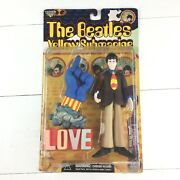 The Beatles Yellow Submarine Figure Paul Mccarthy With Glove And Love Base Vintage