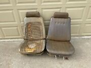 1969-1972 A Body Bucket Seats Headrests Tracks Frames Malibu Convertible