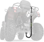 Mud Bandit Atv Recovery Strap With Winch Hook And D Ring Shackle Tow Rope For