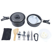 Steam Partial Camping Cooking Set Camping Pot For Outdoor Lightweight Aluminum