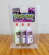 New 2006 Unopened Creepy Crawlers Plasti-goop Compound 1.28oz Bottles