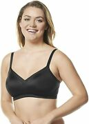 Olga Women's No Side Effects Wire-free Contour Easy Size Backsmoothing Bra