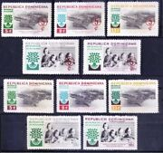 Dominica Republic 1960 Mnh 5v No Gum + Ovp, Int. Year Of Refugees