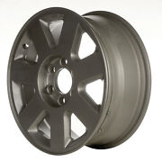 Oem Reman 18x7.5 Alloy Wheel Rim Light Tan Textured With Machined Face - 3606