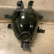 Msa Millennium Cbrn Riot Control Mask Respirator W/ Tinted Lens Cover Size Large