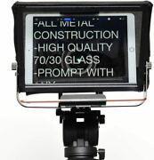 Video Camera Dslr Teleprompter Glass Glide Gear Tmp100 Tablet Ipad Smartphone