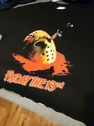 Vintage Friday The 13th Made In Hell 1997 Promo Shirt Sz Xxl Jason Voorhee
