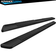 Fits 19 Dodge Ram 1500 Quad Cab Oe Style Black 5in Side Rails Running Boards