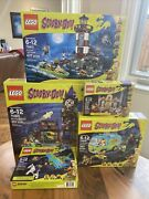 Lego Scooby-doo Complete Collector Sets 75904 75901 75900 75902 75903 See Pics