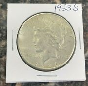 1923 S Peace Silver Dollar Great Collector Coin