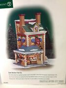 Dept 56 Cic Christmas In The City East Harbor Fish Co. 56.58946 Brand New
