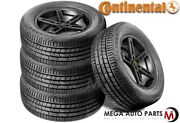 4 Continental Crosscontact Lx Sport 275/45r21 107h All Season Touring Suv Tires