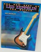 The New Best Of Led Zeppelin For Guitar Easy Tab Deluxe The New Best Of... F..