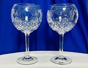 Waterford Crystal Toasting Goblets Millennium Collection 5th Toast Peace Unused