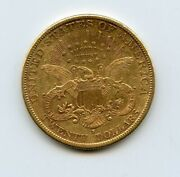 1894-s 20 Liberty Head Double Eagle Gold Coin Circulated