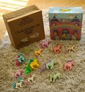 G1 Mlp My Little Pony Lot Collectors Case W/ship Box Spanish Trickles Nirvana...
