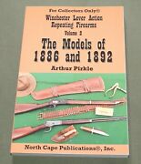 Winchester Lever Action Vol. 2 1886 And 1892 Rifle Carbine Gun Reference Book