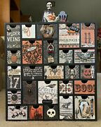 New Custom Made Wooden Halloween 3d Advent/countdown Calendar12andrdquox11andrdquox2andrdquo Drawers