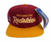 Vintage Washington Redskins Sports Specialties Fitted Hat Adult Size 7 1/2 Nwt