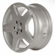 Oem Reman 18x9 Alloy Wheel Rear Bright Sparkle Silver Full Face Painted-65310