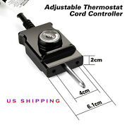 Thermostat Probe Control Cord For Electric Skillet Cord Replacement Smoker Cord