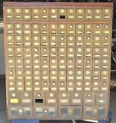 Antique/vintage 1900s Post Office Boxes - Full Wall - Over 4and039 Tall - 96 Doors