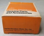 1975 Fx Fxe Super Glide Amf Boxed Harley Tank Decal Red White Blue 61266-75 Nos