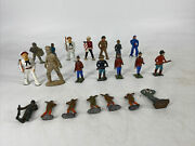 Lot Of 23 Lead Lot-various Makers Toy Soldiers