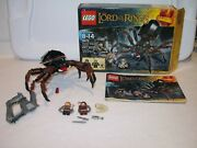 Lego Lord Of The Rings Shelob Attacks 9470 100 Complete W/box And Instr.