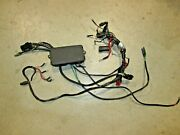 Omc Brp Johnson Evinrude Oem 1996 And Up V4 Wiring Harness And Trim Junction Box