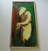 Leon Saulter 48 Abstract Painting Modernist Modernism Expressionism Portrait