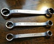 3pc Cornwell 3 Dual End Wrench Set
