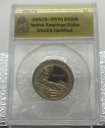 2017 S Proof Ngc Pf 70 Sacagawea Native American Dollar Coin