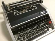 Olivetti Lettera33 Deluxe 1969 Es Typewriter Vintage Antique Operation Confirmed