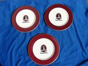 Vtg Mayer Restaurant Plates Opryland Hotel Golf Club Springhouse Set Of 3