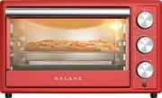 Toaster Oven Convection Retro 0.9 Cu.ft 1500w Red 120-volt With Indicator Light