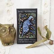 Wild Whiskers Oracle Deck - Spirit Animal Divination Cards - Animal Oracle Cards