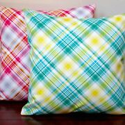 Artisan Pillows Indoor 20-inch Notting Hill Plaid Tartan