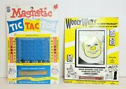 Original Wooly Willy Magnetic Hair Styling Tic Tac Toe Smethport Specialty Co