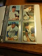 1964 Topps Giants Near Complete Set 1-60 Missing Mays 51 Mantle Clemente Hof