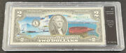 2 Colorized Uncirculated Bill - Alaska - Wwii Valor In The Pacific Note