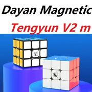 Dayan Magnetic Tengyun V2 M 3x3x3 Stickerless Magic Cube Twist Puzzle Toys Gifts