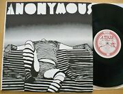 Anonymous- Inside The Shadow 1981 2nd Press 1976 Private Psych Prog Minty
