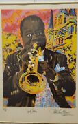 Paul Blaine Henrie Louis Armstrong Satchmo Limited Edition Artist Proof Signed