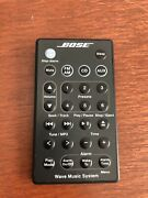 Bose Wave Music System Remote Control Black For Awrcc1 Awrcc2 Radio/cd