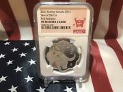 2021 Scallop Year Of The Ox Silver Coin Ngc 70 Ultra Cameo💎