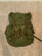 Us Army Alice Pack With Frame + Hip Pad Size Large Condition Excellent