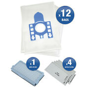 12 X Miele C3 Gn Vacuum Cleaner Hoover Dust Bags And Filters Maintenance Kit