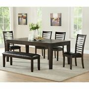 Alice Antique Charcoal Dining Set By Greyson Living Espresso 7-piece Sets
